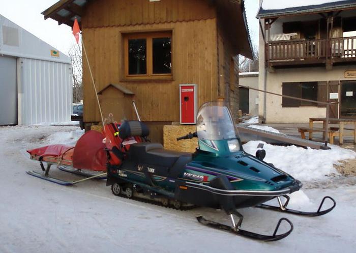 Снегоходы также нуждаются в контроле ГИБДД