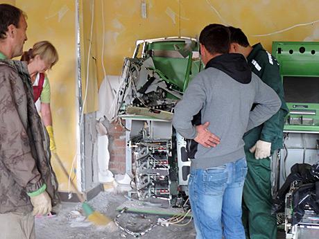 Подрыв банкомата в Уфе