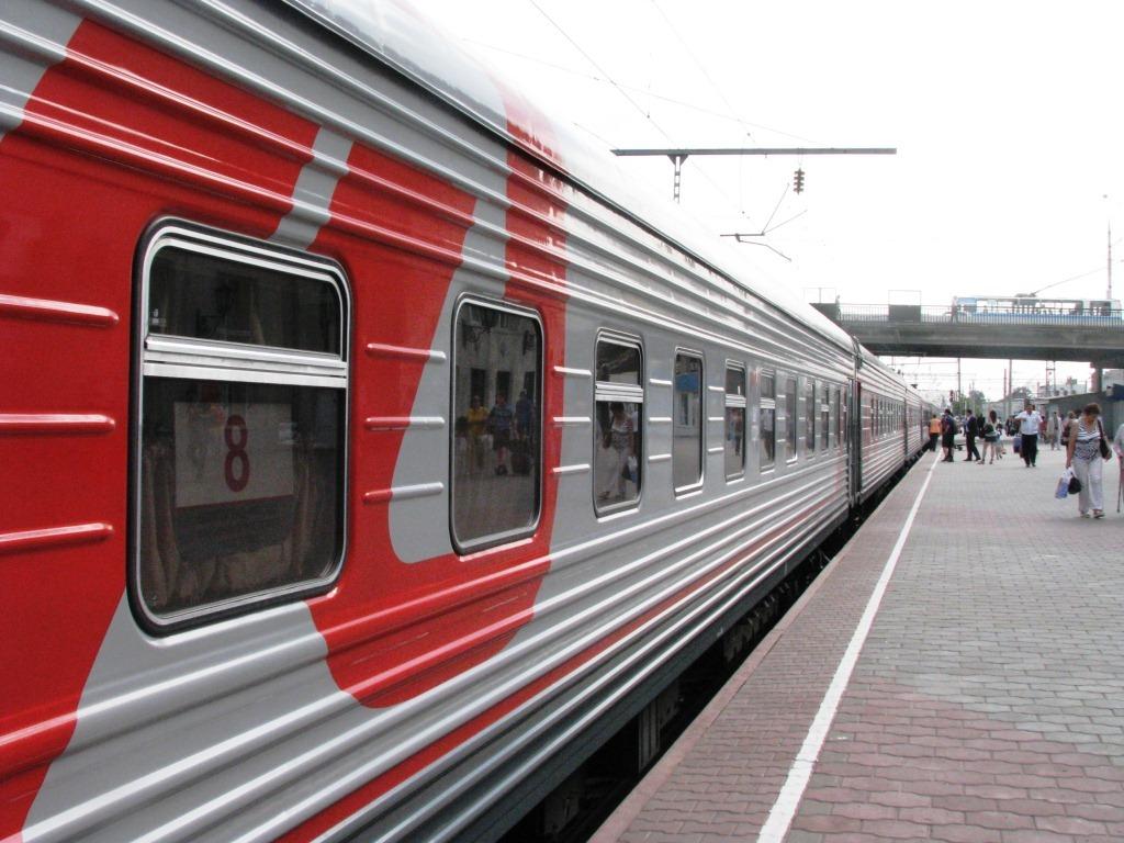 Двухэтажный поезд Москва-Уфа